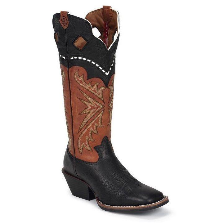 TONY LAMA Men's Black Kodiak Buckaroo Boots RR1009 NIB #TonyLama #CowboyWestern