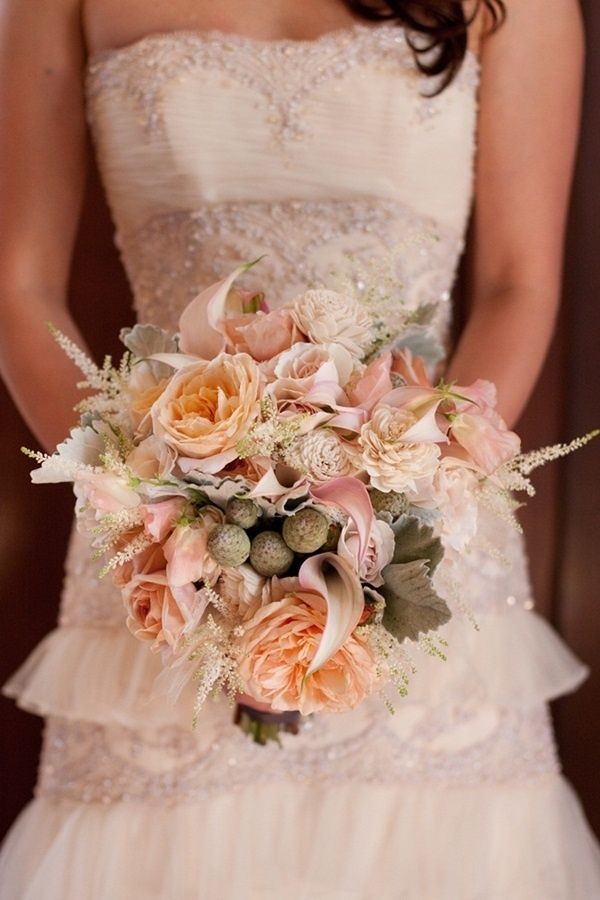 29 best images about shabby chic wedding bouquets on for Bouquet chic