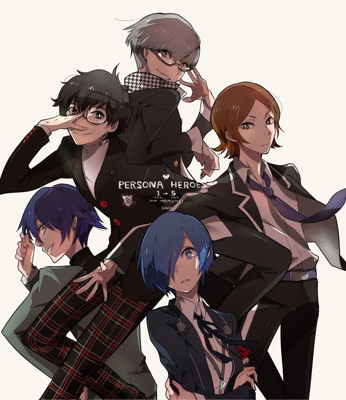 Persona Heroes 1-5