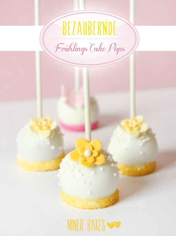 upside down #cake pops - #butterfly #flower cake pops - #niner bakes #tortendekorieren