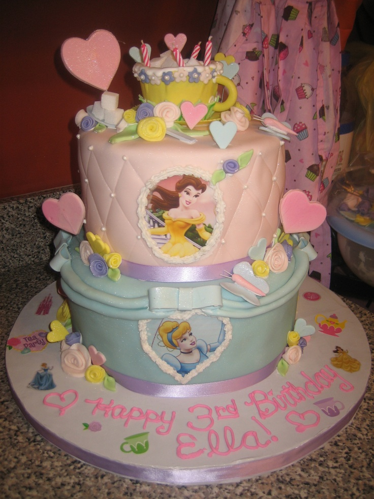 Best Kristens Cakes And Kreations Images On Pinterest - Disney birthday cake ideas