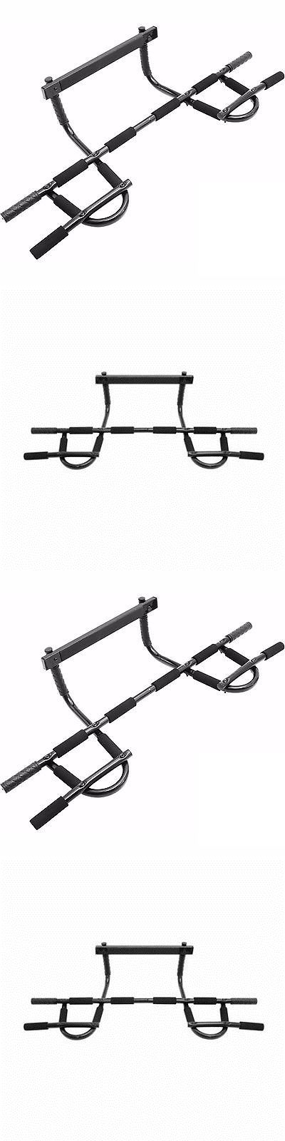 Pull Up Bars 179816: Doorway Gym Premium Home Fitnes Pull-Ups And Upper Body Fits Easy Onto Doorframe -> BUY IT NOW ONLY: $30.88 on eBay!