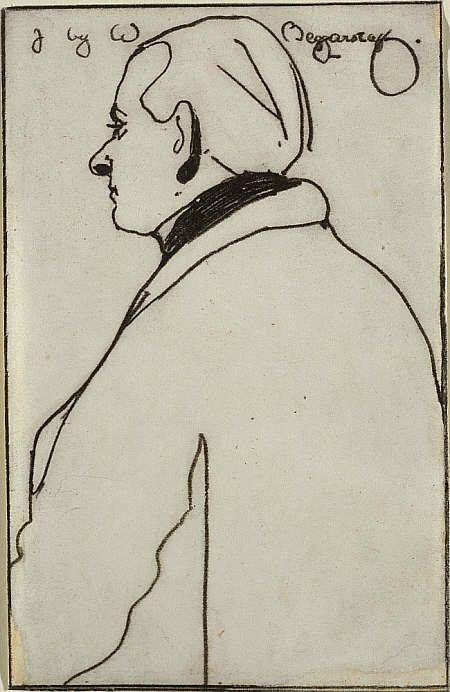 James Ferrier Pryde, 1866 - 1941 by William Nicholson
