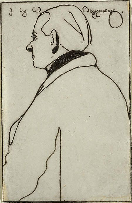 James Ferrier Pryde, 1866 - 1941 by William Nicholson