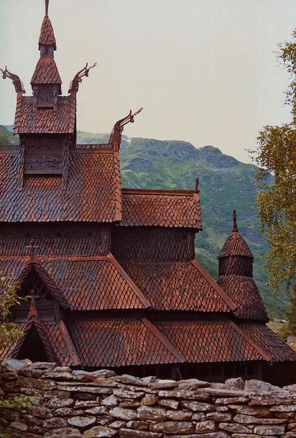 Borgund Stave Church in Norway - these Stave Churches were amazing!