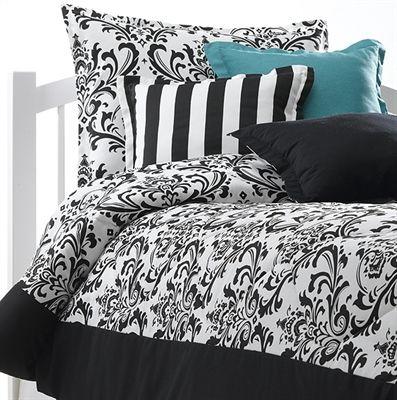 Black And White Dorm Bedding Cute Dorm Comforters