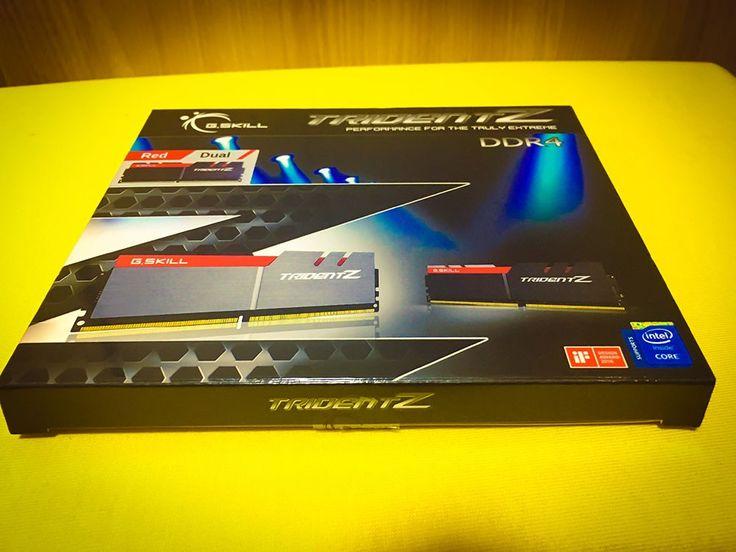 G.Skill TridentZ DDR 4 SDRAM 3200MHz
