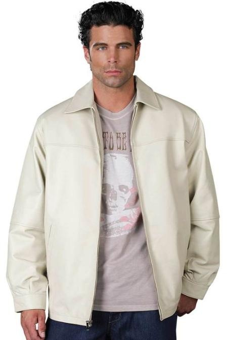 Mens Leather Jacket Bone for only US  $139, really good to wear. Buy more save more! Buy 3 items get 5% off, Buy 8 items get 10% off.