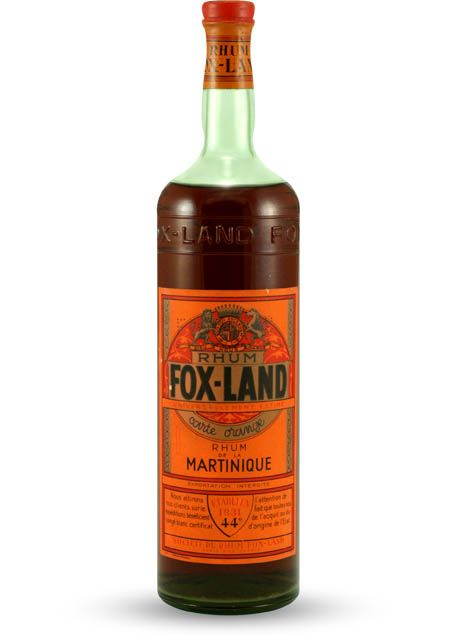 Fox-Land Rhum Corte Orange