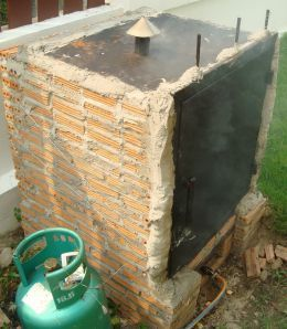 How to Build a Brick BBQ Smoker- Ben will be so happy I pinned this!