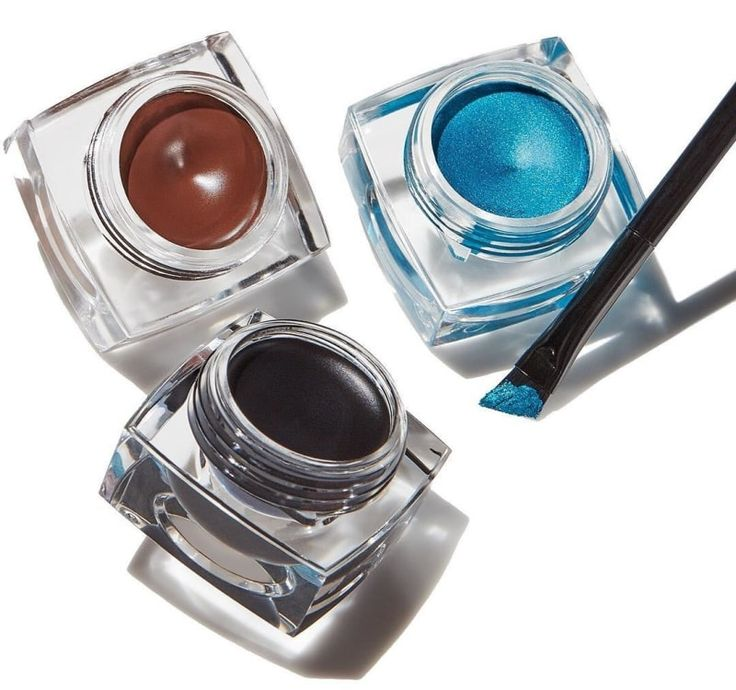 """Promising Review: """"This cream eye liner is a lot better that liquid ones because you can draw the line over the eyelid ten times easier. The consistency is perfect, and it comes with the right brush so you won't have to make a mess using a wrong one."""" –Amazon CustomerPrice: $3. Available in two colors. Rating: 4.0/5"""