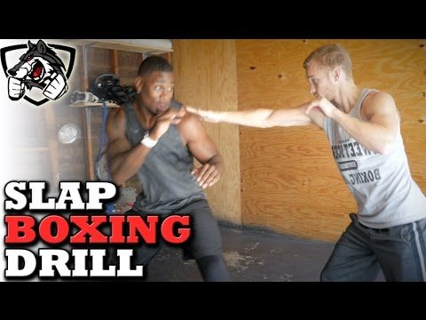 Slap Boxing Alternative: Boxing Partner Drill for Reaction Time - YouTube