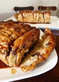 Easter Pull Apart Bread with Orange-Cinnamon Syrup