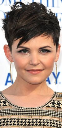 Ginnifer Goodwin short hairstyle - maybe a little too extreme for me - but I like the general idea