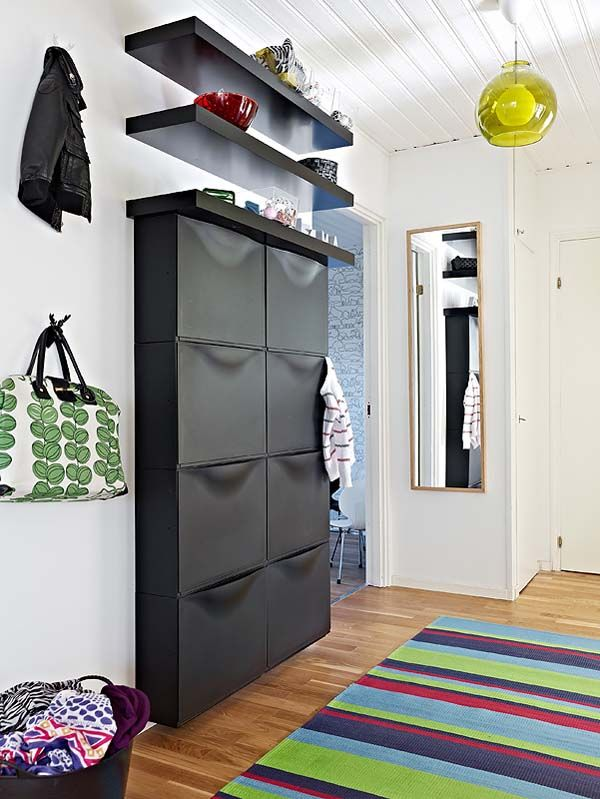 Another pinner pinned: Trones from Ikea $39.99 Holds a min. of 6 pairs of shoes. I have these in my Master bath. I put a whole 12 pack double roll tissue in one. My fiancee has socks in one unit in his closet.  Repined by Yourfavorite Organizer on FB www.neatandsimple...
