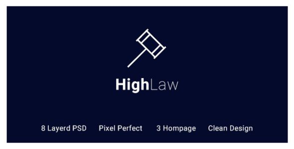 HighLaw Law Firm - Attorney PSD Templates by zcubedesign FEATURES:8 PSDs News Layouts Fully layered elements Bootstrap 1170px grid base Pixel Perfect Google Fonts Well Organized Layout