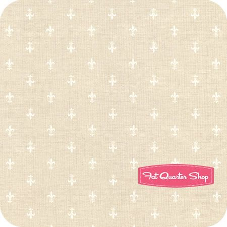 French General Favorites Pearl Fleur De Lis Yardage SKU# 13605-20 - Fat Quarter Shop: Fat Quarter