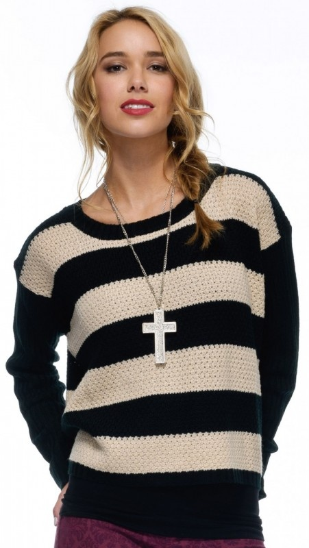 Hannah Stripe Knit by Sass Now: $75.95