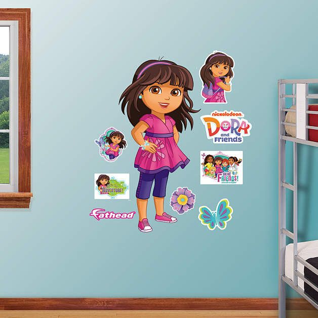Fathead Dora And Friends Peel And Stick Decals   Wall Sticker Outlet Part 59