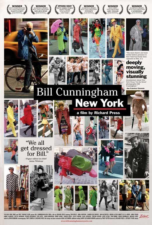 Bill Cunningham New York 11x17 Movie Poster (2010)