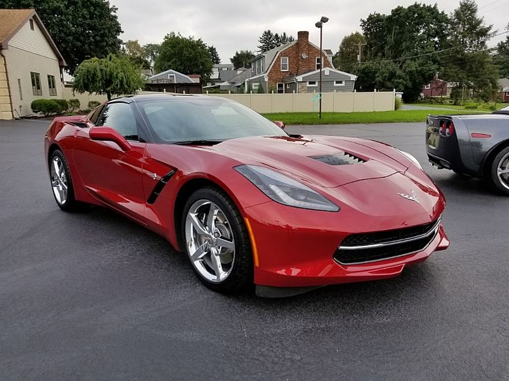 2014 COUPE 2LT CRYSTAL RED/BLK 7K MILES 2014 Corvette