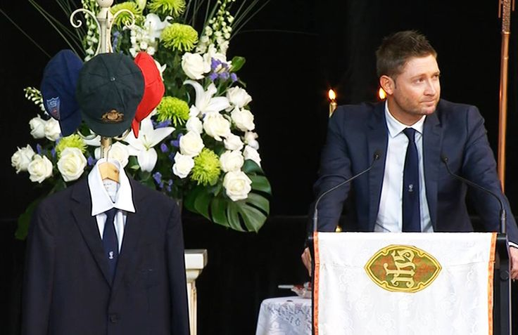 Michael Clarke - heartfelt tribute. RIP Phillip Hughes.