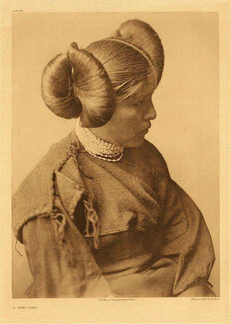 Hopi girl - 1904. native americans