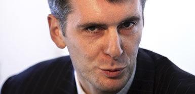 Russian Billionaire Mikhail Prokhorov  Nets Owner
