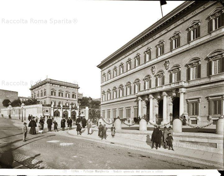 : Palazzo Margherita – Via Veneto Anno: 1880/1910