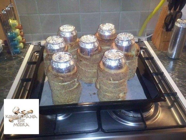 A klassz alufólia kombó sörös doboz és az omlós kürtős kalács receptje Edit konyhájából szeretettel :) - MindenegybenBlog