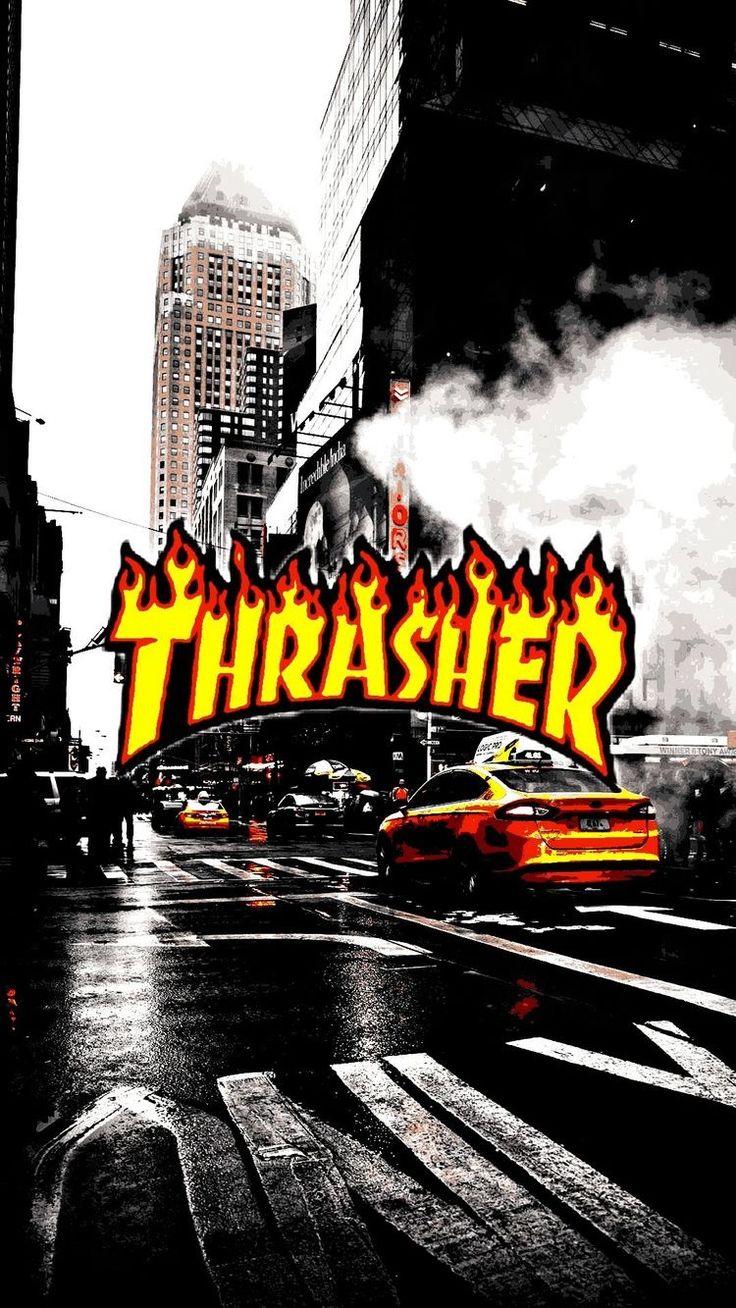 Pinterest: @andresilvaa1904 #thrasher #wallpaper # ...