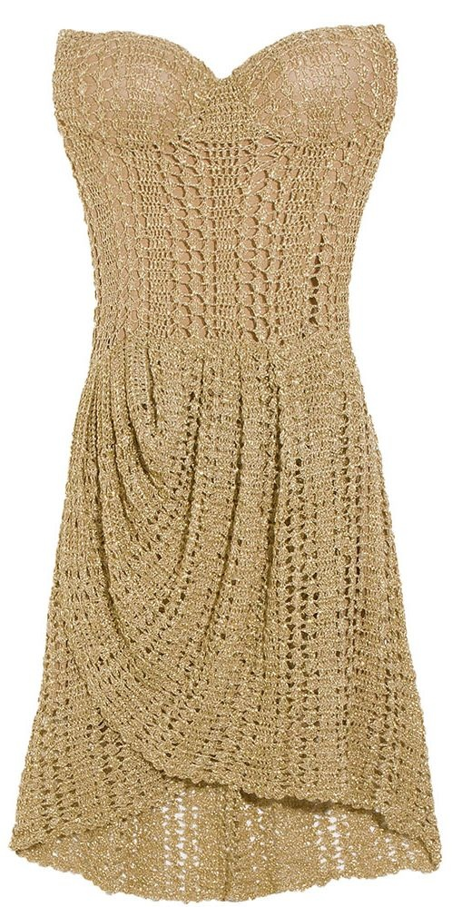 crochet dress *this is beautiful, if only i could crochet like a pro