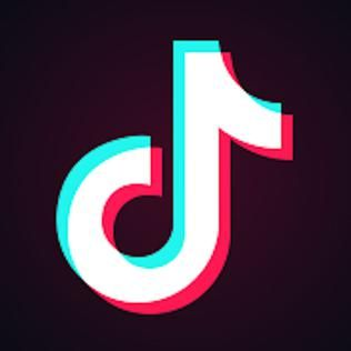 Tiktok logo.jpg เรขาคณิต, วอลเปเปอร์, วอลเปเปอร์โทรศัพท์