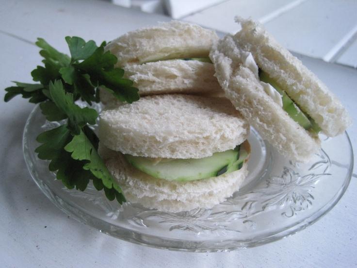 cucumber cream cheese sandwiches | Sammies | Pinterest