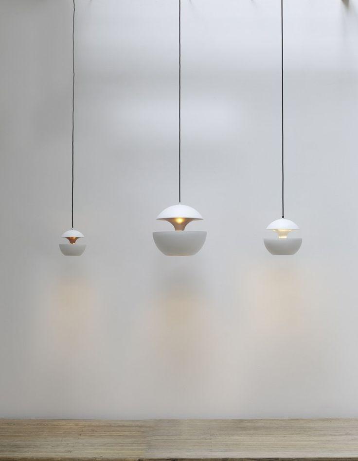 Delightful Lampada A Sospensione In Alluminio HCS WH Collezione Here Comes The Sun By  DCW éditions