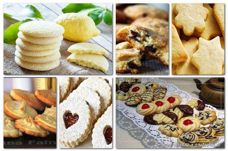 Las galletas caseras son una de esas recetas que a todo el mundo nos gusta saber hacer, tienen algun secreto pero eso no te pasará a ti porque te traigo las mejores recetas que conozco....