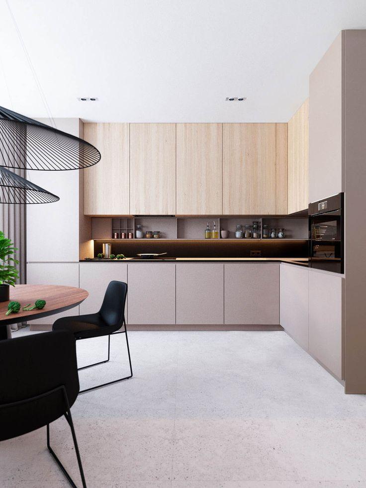 Funktionales minimalistisches Haus mit kräftigen Farben und maßgeschneiderten Innenräumen.   – HAUS DEKORATION