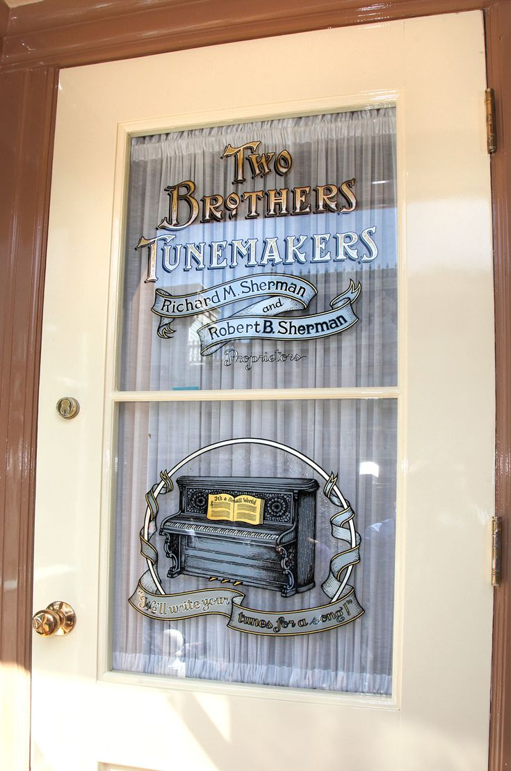 The Shops of Main Street, U.S.A.: 20th Century Music Company | Disney Parks Blog