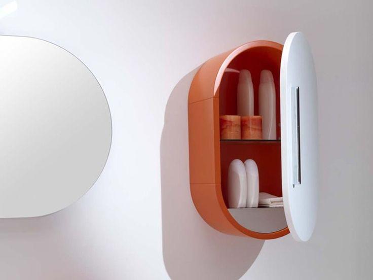 Настенный шкафчик для ванной комнаты - Flux us - http://mebelnews.com/nastennyj-shkafchik-dlya-vannoj-komnaty-flux-us