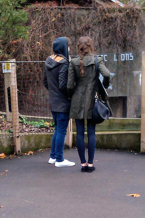 | Eleanor Calder & Louis Tomlinson |