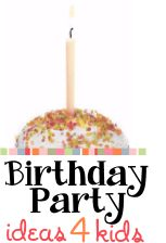 Charity Birthday Party Ideas for Kids Parties - teaching kids to give