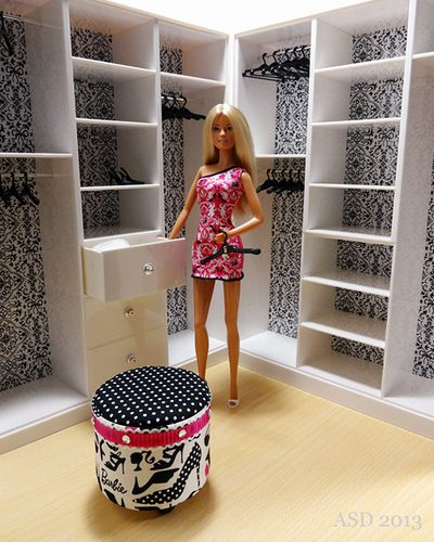 233 best barbie m bel selber bauen images on pinterest puppenh user barbie m bel und m bel. Black Bedroom Furniture Sets. Home Design Ideas