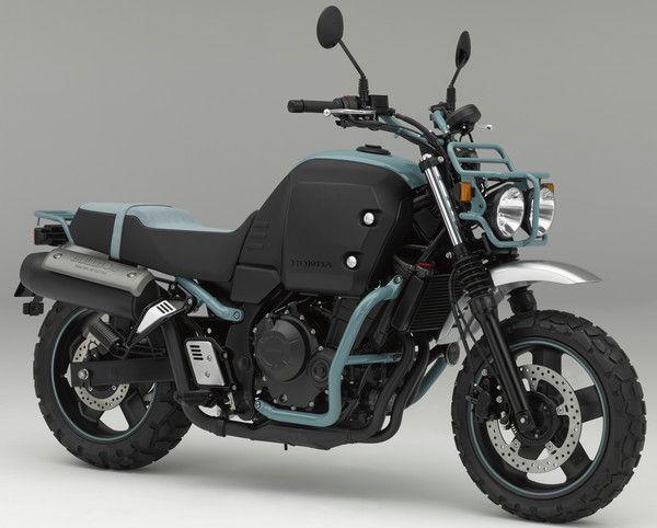 ホンダ「ブルドッグ」のっそり登場--愛嬌あるレジャーバイクのコンセプトモデル - えん乗り