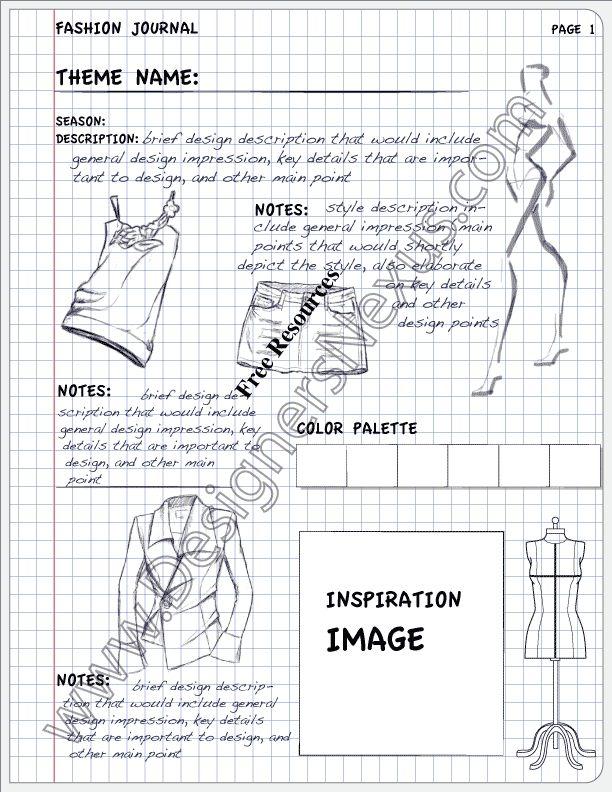 Fashion Portfolio Layout Examples V11 Design Journal - Designers Nexus