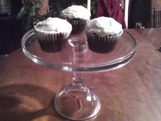 My Captain Jack Sparrow Chocolate Cupcakes with Rum flavored Buttercream. Inspired by Johnnie Depp (Chocolat + Pirates)