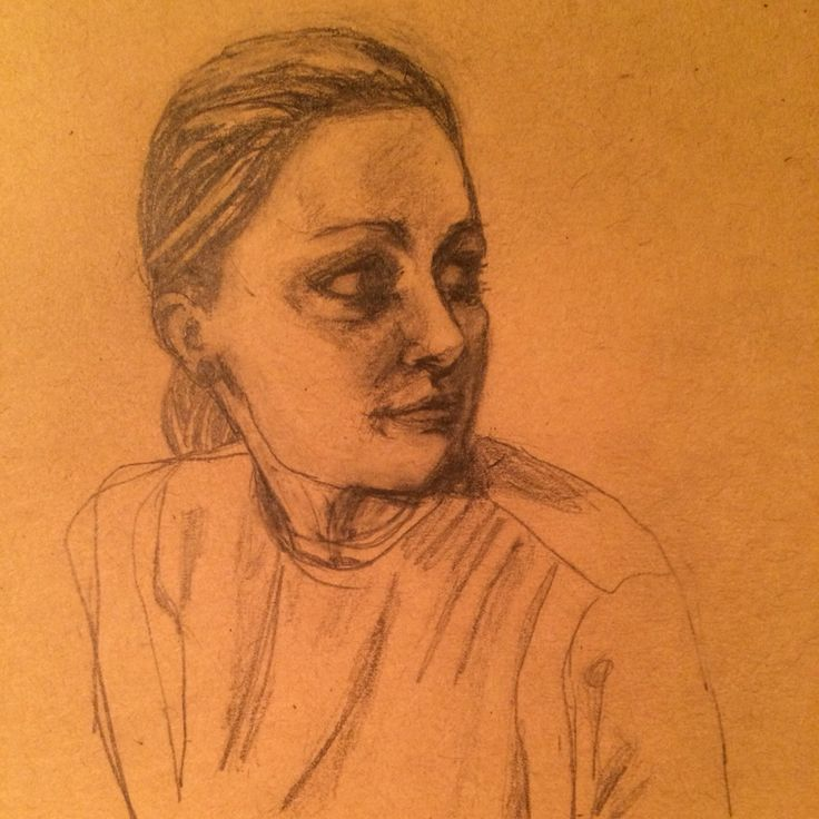 Kate. Drawing by kjersti dirdal