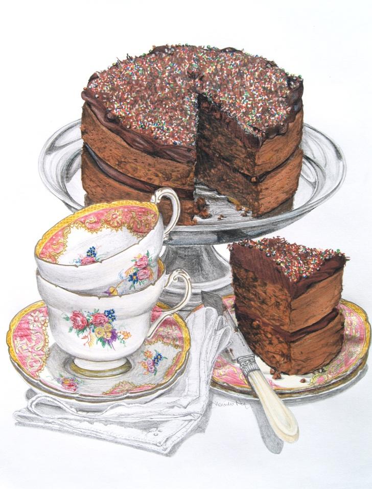 Classic Chocolate Cake | Alexandranea