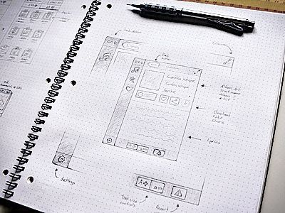 Beautiful Sketches from Dribbble