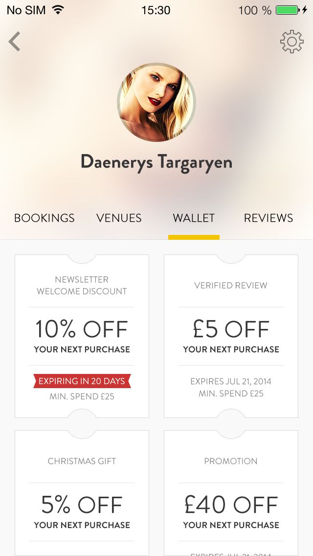 7 best ☆ INSPIRATION GIFT VOUCHERS images on Pinterest Gift - examples of vouchers