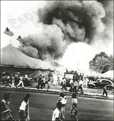 Hartford CT July 6 1944 a terrible fire disaster happened during a & 62 best 1944 July 6 - Fire - Circus - Hartford Conn. images on ...